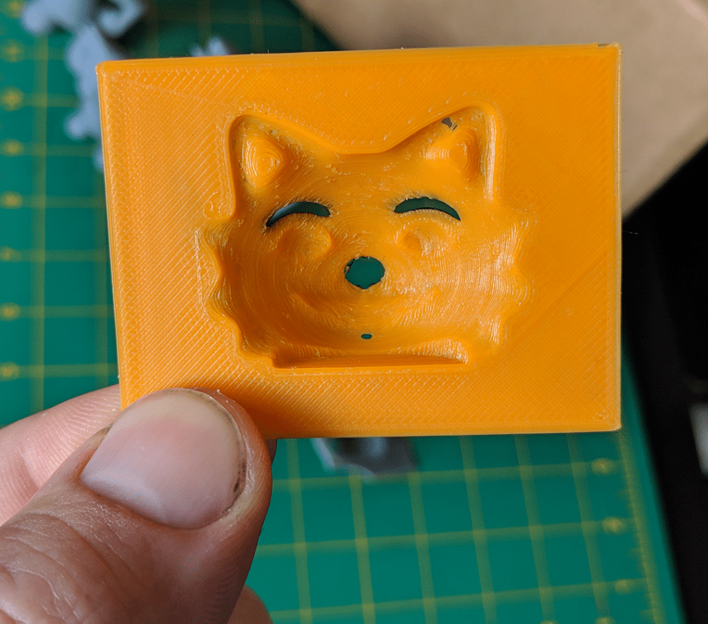 3D-printed paint mask